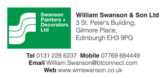 Swason Decorating Edinburgh