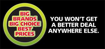 Big Brands Big Choice Best Prices at Victor Pairis